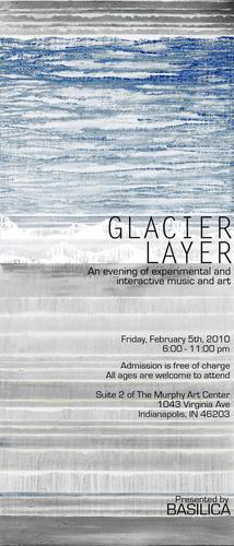 GLACIER LAYER flyer