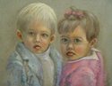 Painting--Oil-PortraitLuciano & Anna Beatrice