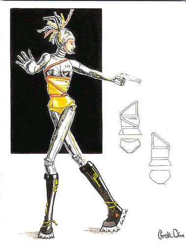 Gunmetal Diva