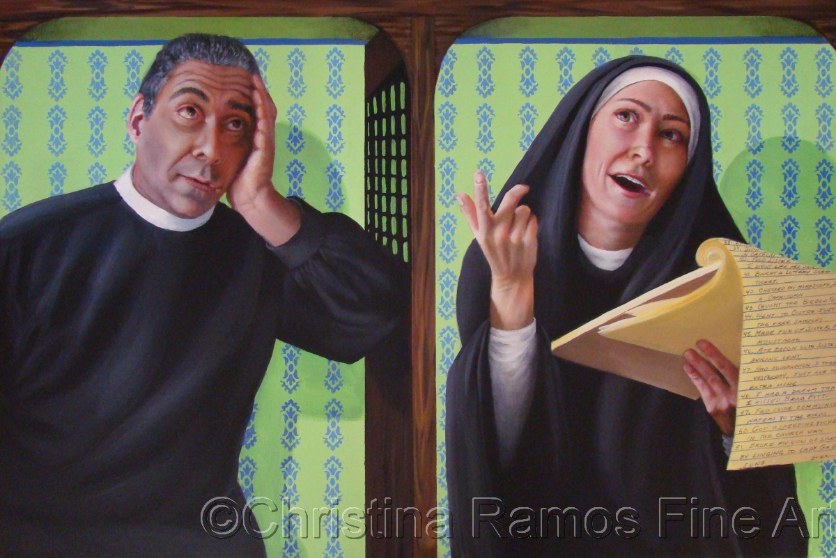 Sister Mary had a multitude of Sins - Sold (large view)