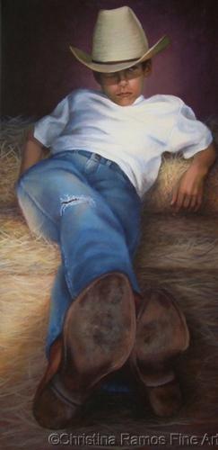 Hittin the Hay by Christina Ramos