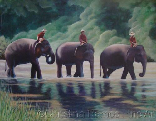 Elephants (large view)