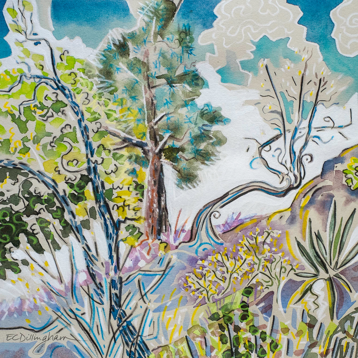 September Forest (large view)