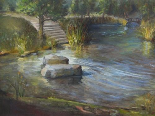 L'etang, The pond