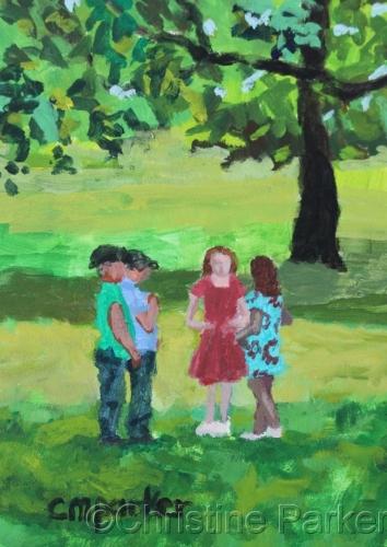 Central Park, Children