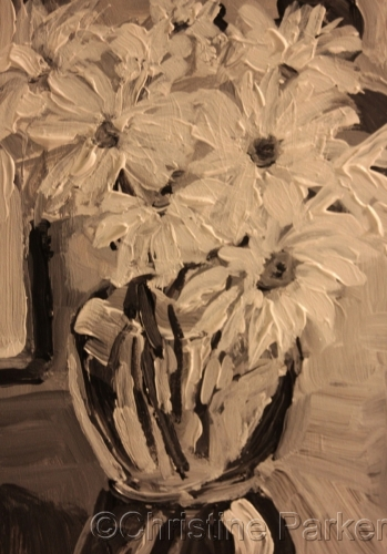 Daisies in Monochromatic