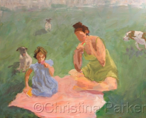 Popsicles in the Park by Christine Parker