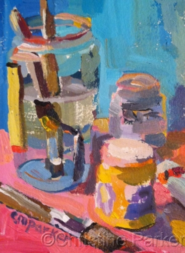 Painter's Still Life