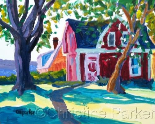 Barn by Christine Parker