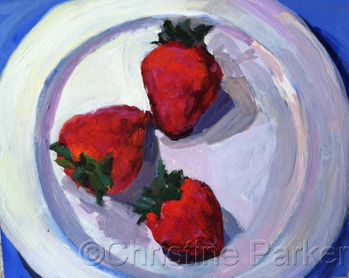 Still Life with Strawberries 2014
