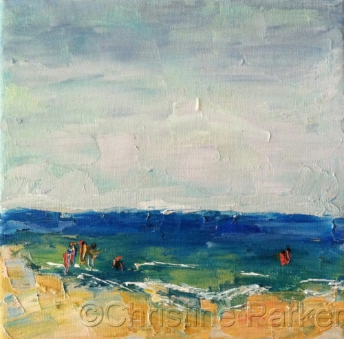 Abstract Figurative Seascape