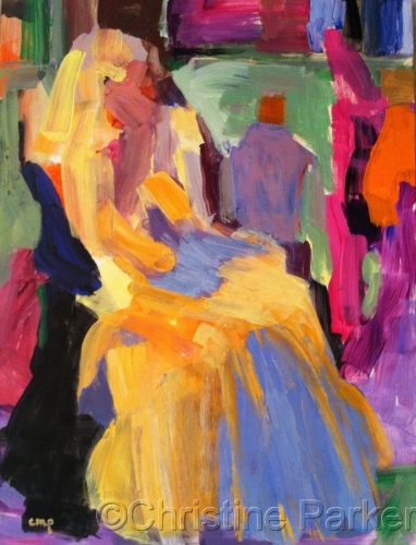 Abstract Figurative Woman