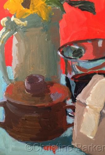 Still Life #4 Coffee Series