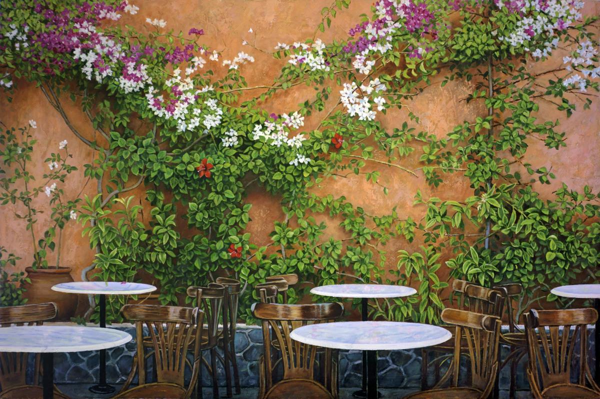 Greek Island Cafe (large view)