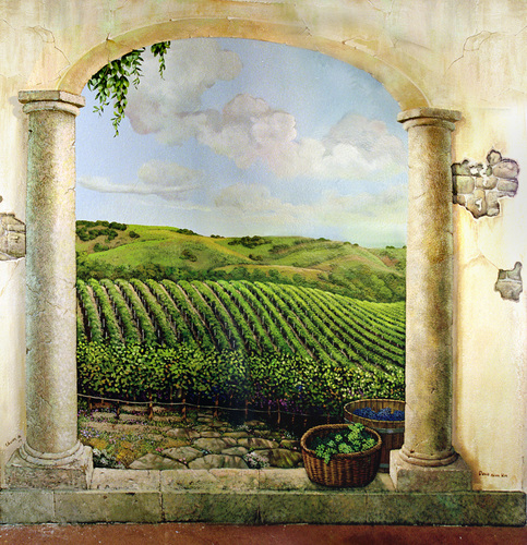 winery mural 2 (large view)