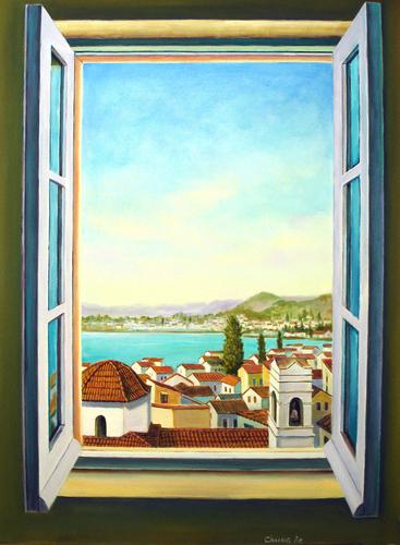 Window, Nafplio, Greece (large view)