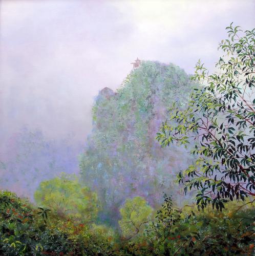 Yangshuo Mountain by Chung Ae Kim
