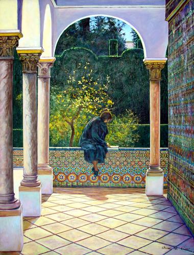 Sevilla Alcazar by Chung Ae Kim