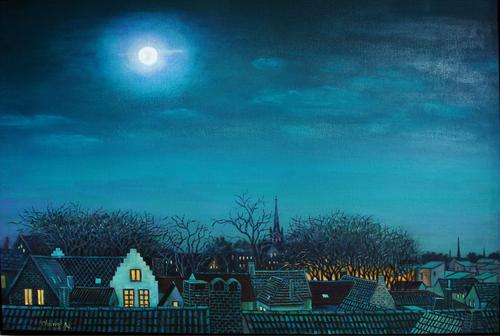 Brugge Night