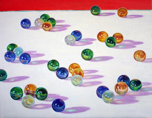 Marbles by Chung Ae Kim