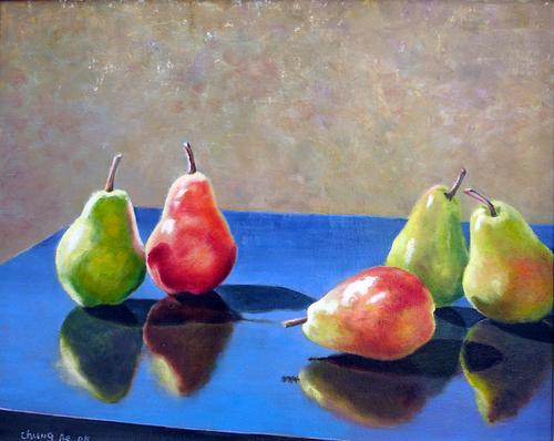 Pears by Chung Ae Kim
