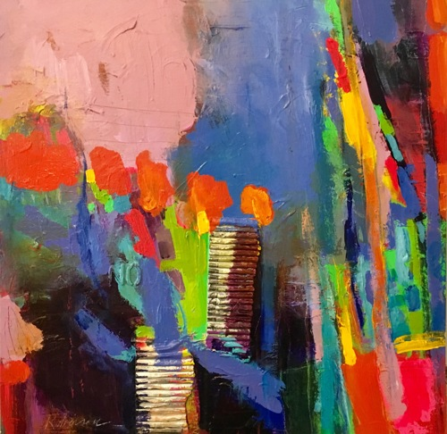 Abstract Art/Painting Colorful Contemporary