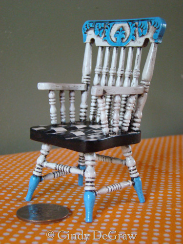 Miniature Wooden Chair