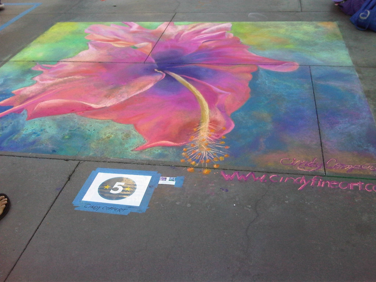 Pasadena Chalk Fest- Guinness Book of World Records (large view)