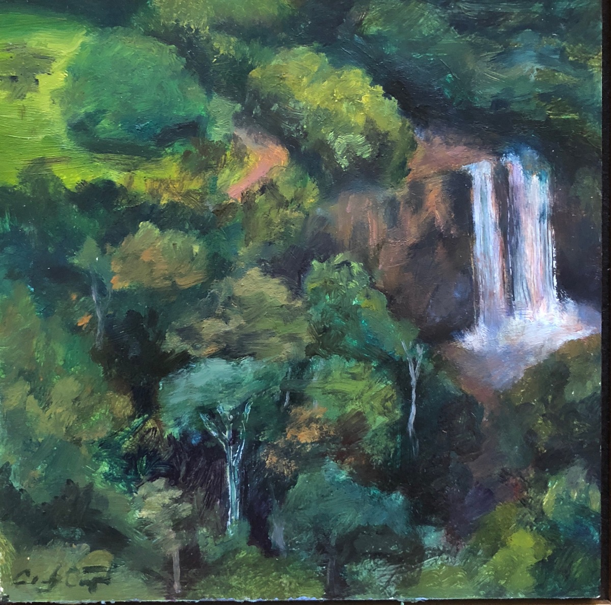 Fantasy Island Waterfall, Kauai (large view)
