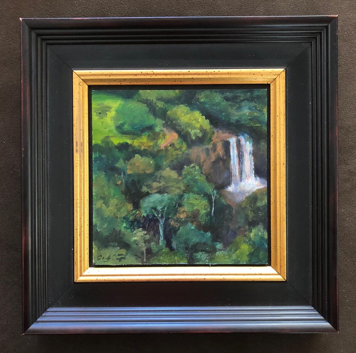 Fantasy Island Waterfall, Kauai (framed) (large view)