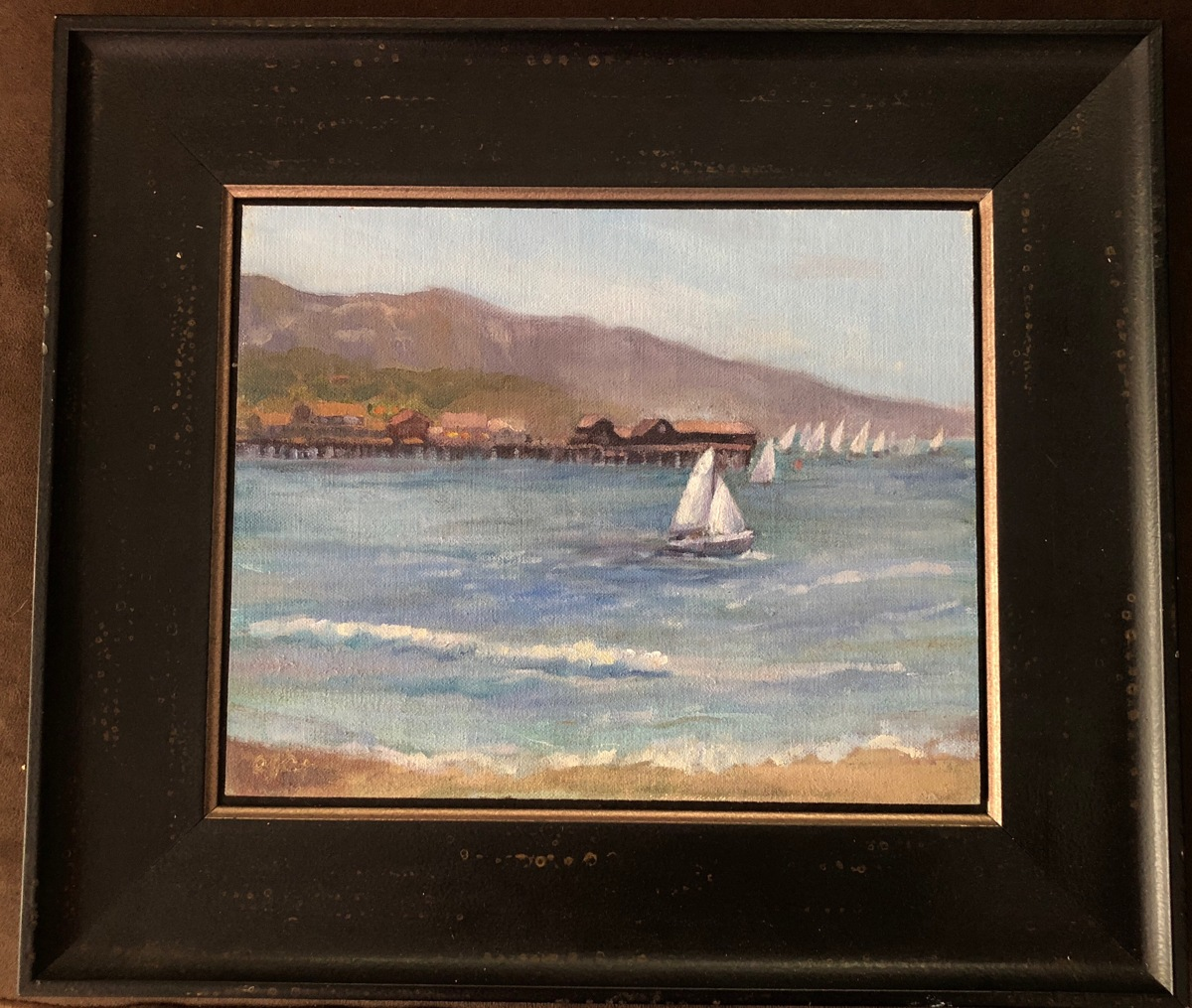 Santa Barbara Regatta (framed) (large view)