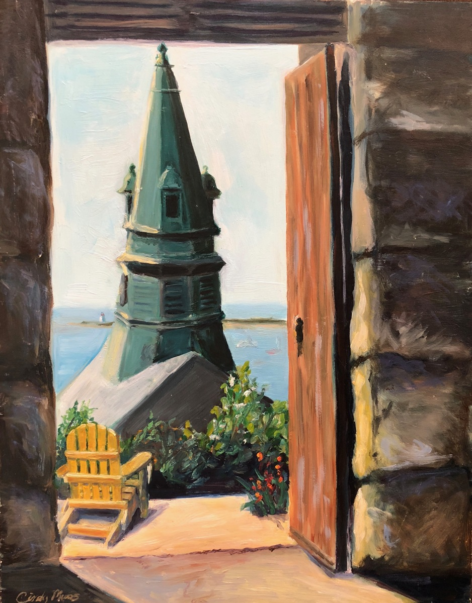 Pilgrim Monument View, Provincetown (framed) (large view)