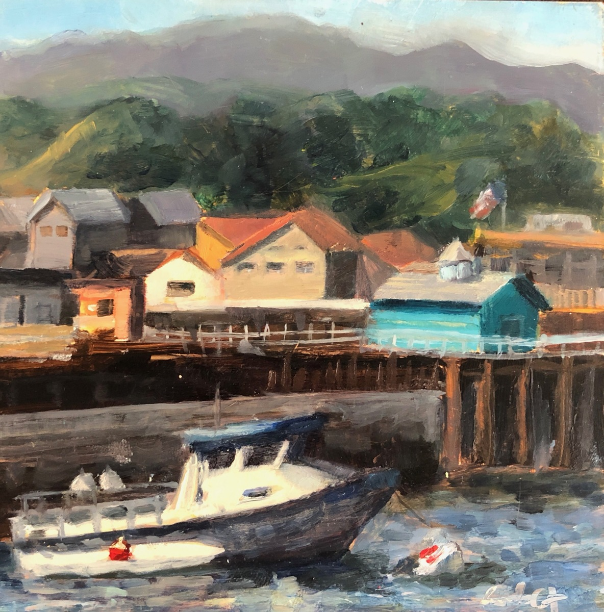 Fisherman's Wharf Monterey (framed) (large view)