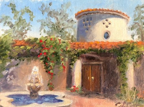 King Gillette Ranch Calabasas (framed) by CindyFineArt