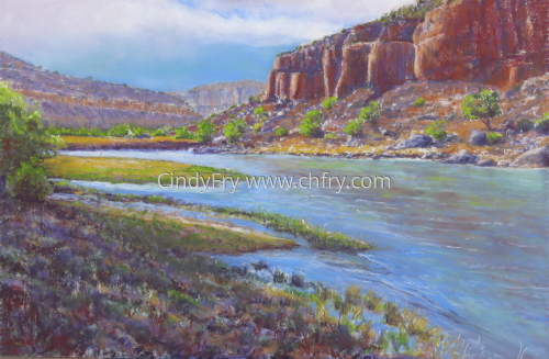Chama River by Cindy Fry