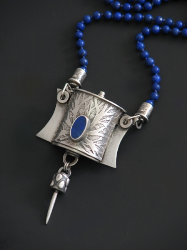 Sleeve Pendant Necklace