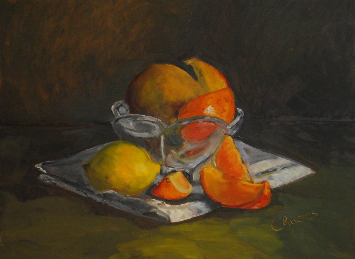 Mangoes, Oranges and Lemon (large view)