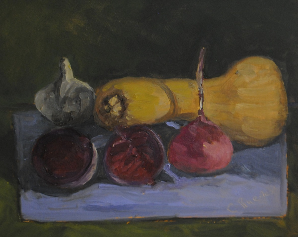 Beets, Garlic and Butternut Squash (large view)