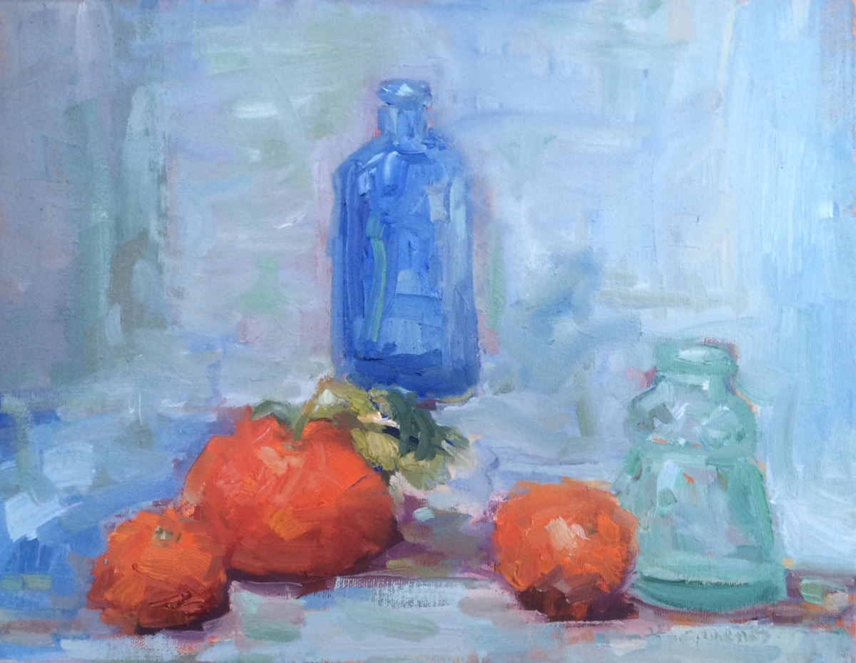 Vases and Clementines (large view)
