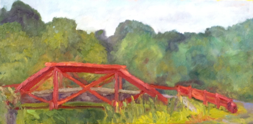 Bridge on a Hot Summer Day by Cindy Ruenes Fine Art
