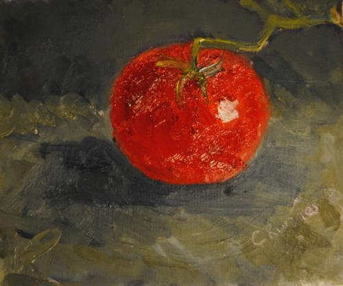 Tomato by Cindy Ruenes Fine Art