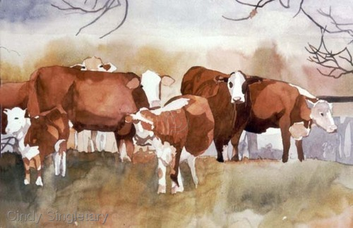 """Benton Cows"" (large view)"