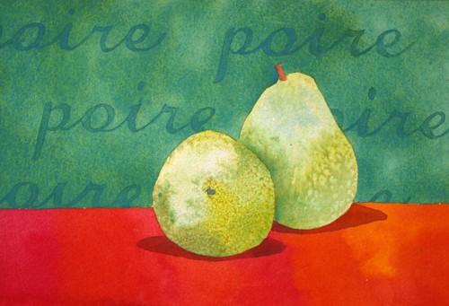 """Pear Study"" by Cindy Singletary"