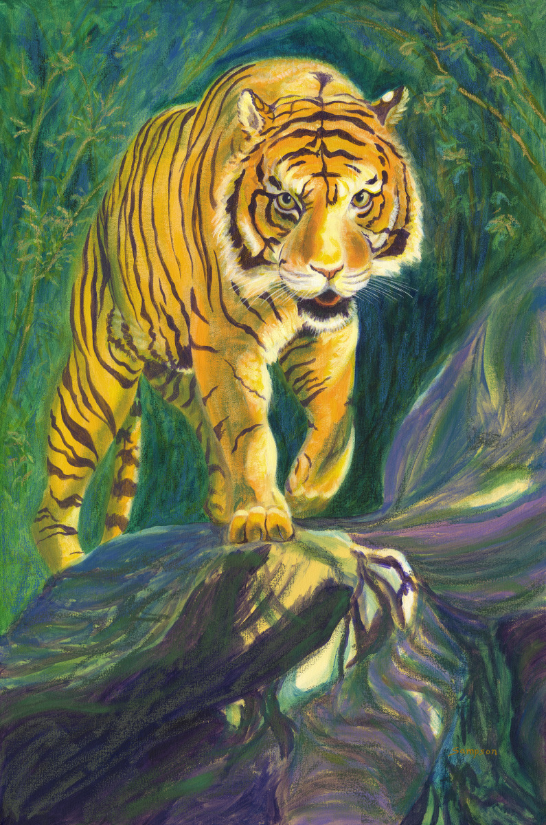 """""""Ten Year Tiger"""" (large view)"""