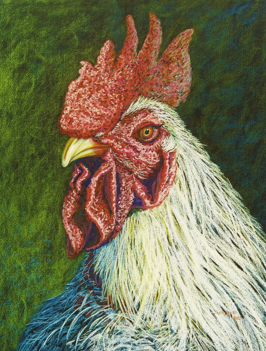 """""""You Talking to Me?""""   (rooster) (large view)"""