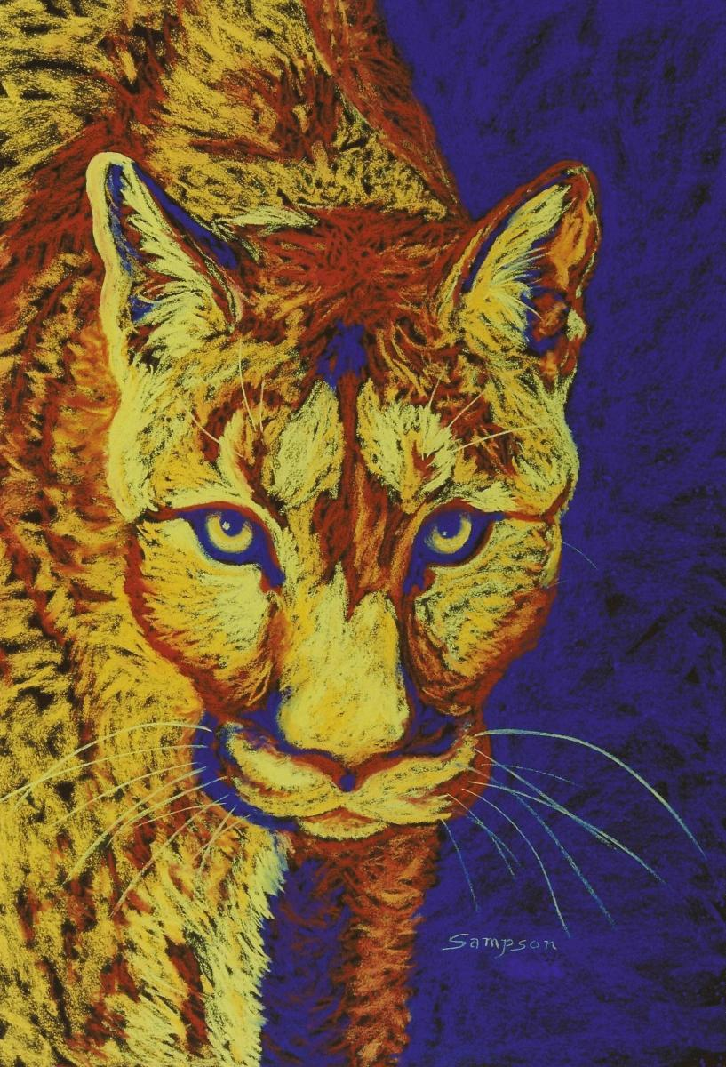 """Haunted""   (mountain lion) (large view)"
