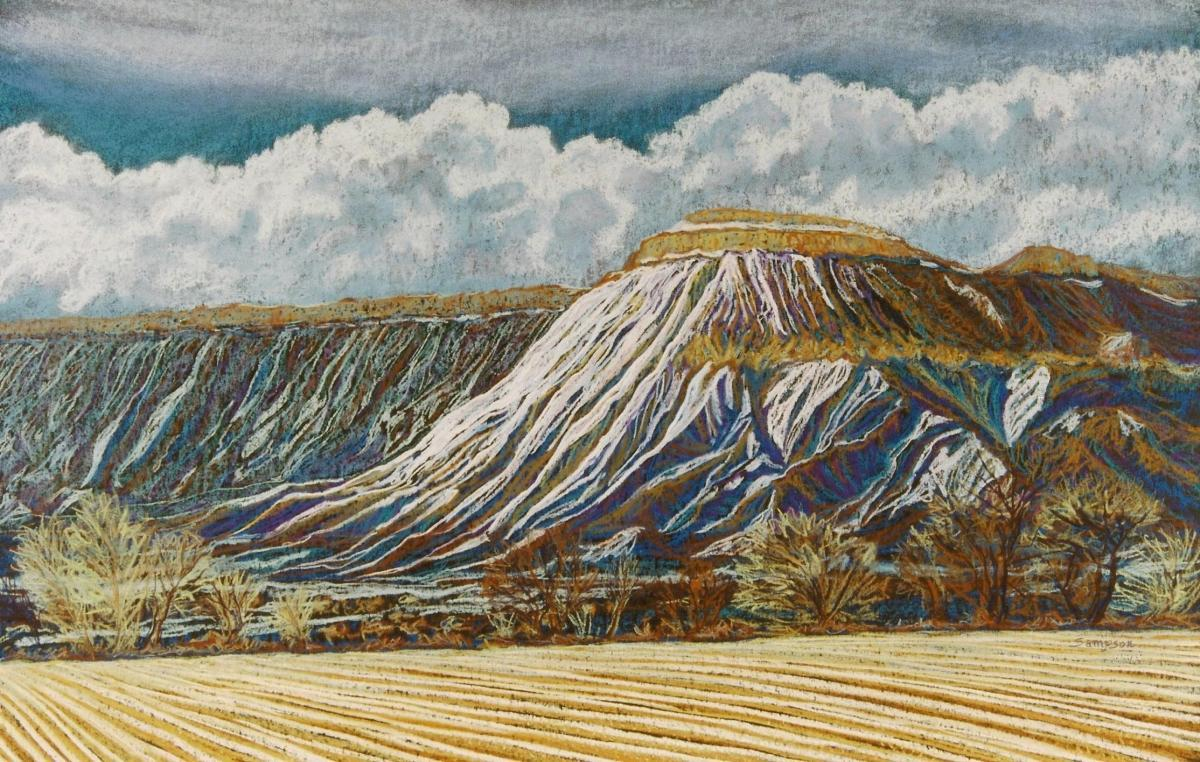 """Mt. Garfield""  ( Grand Junction, Colorado) (large view)"