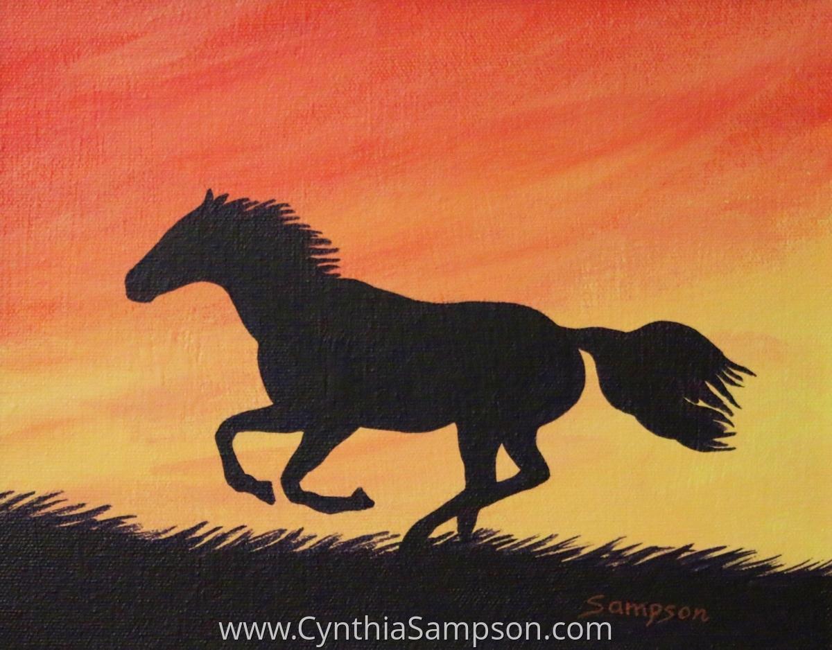 """Sunset Run"" (large view)"