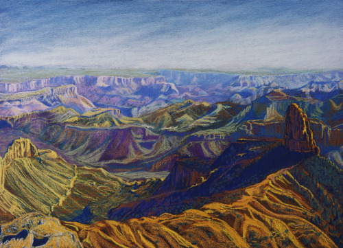 """Grand Canyon Jazz""   (Point Imperial, North Rim) by Cynthia Sampson"