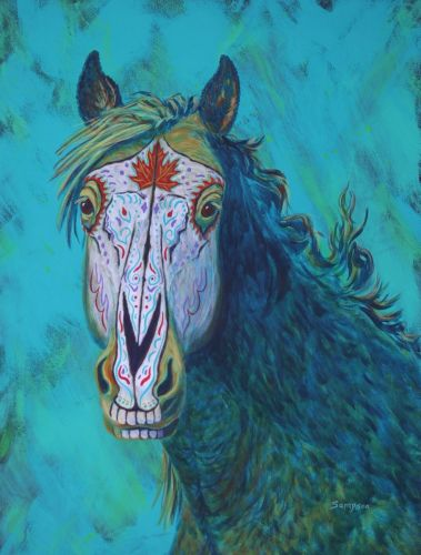 Autumn Day of the Dead Horse